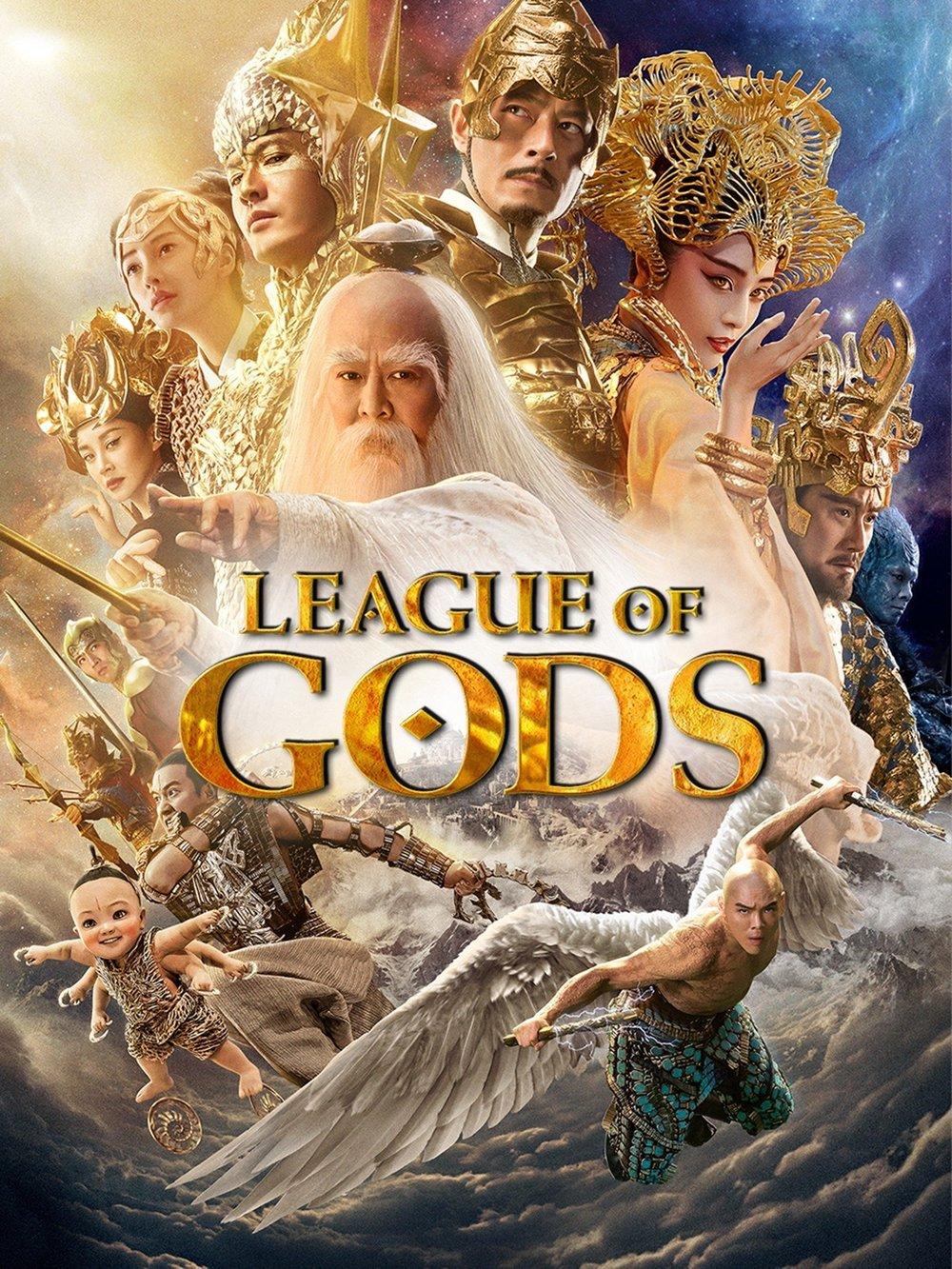 affiche du film League of Gods