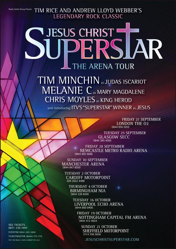 affiche du film Jesus Christ Superstar: Live Arena Tour