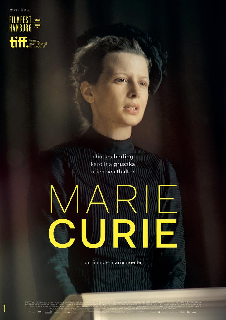 affiche du film Marie Curie
