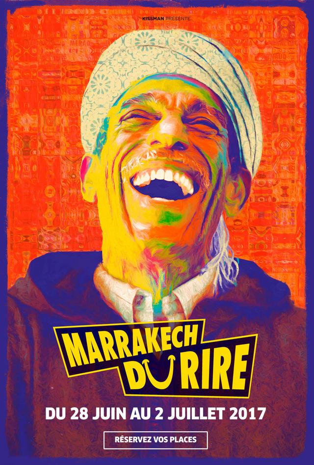 affiche du film Marrakech du rire 7