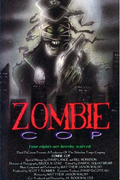 affiche du film Zombie Cop