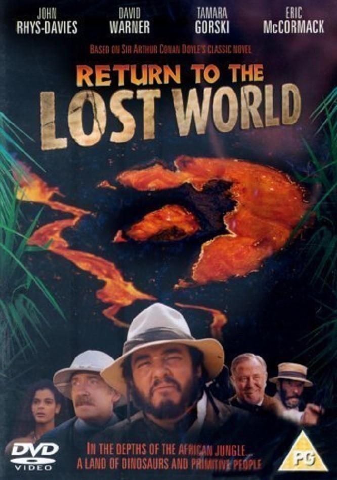 affiche du film Return to the Lost World
