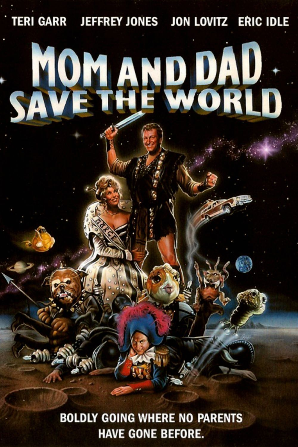 affiche du film Mom and Dad Save the World