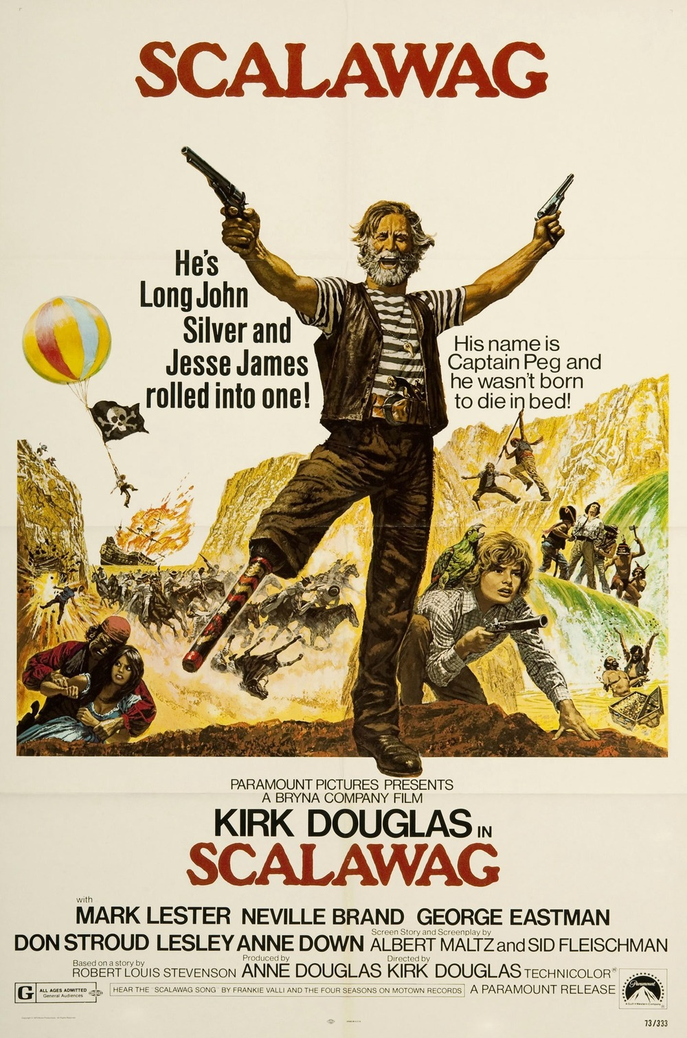 affiche du film Le trésor de Box Canyon