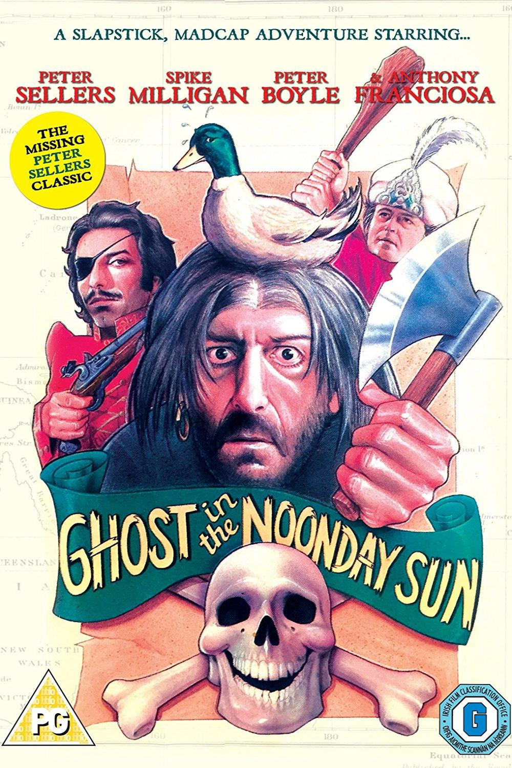 affiche du film Ghost in the Noonday Sun