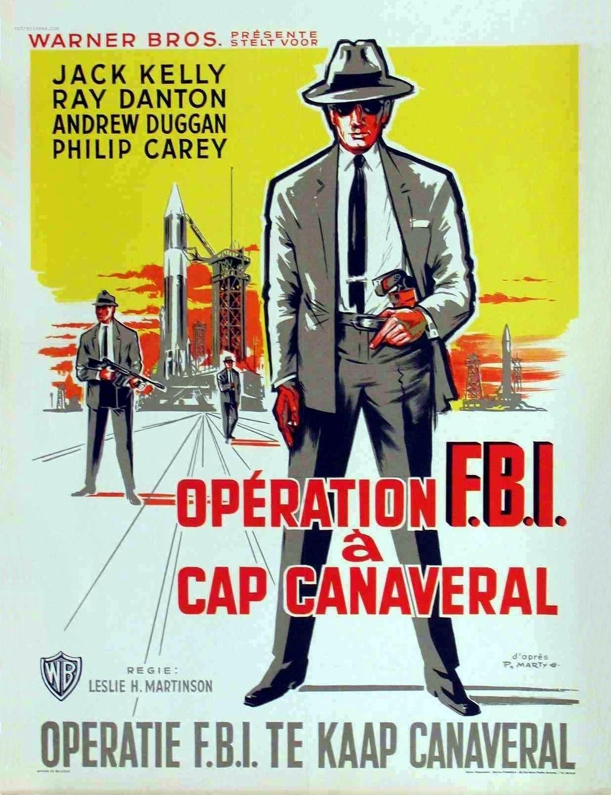 affiche du film Opération FBI à Cap Canaveral