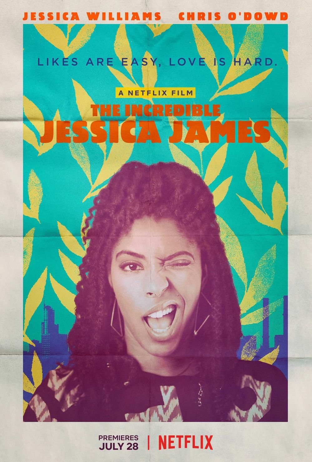 affiche du film The Incredible Jessica James