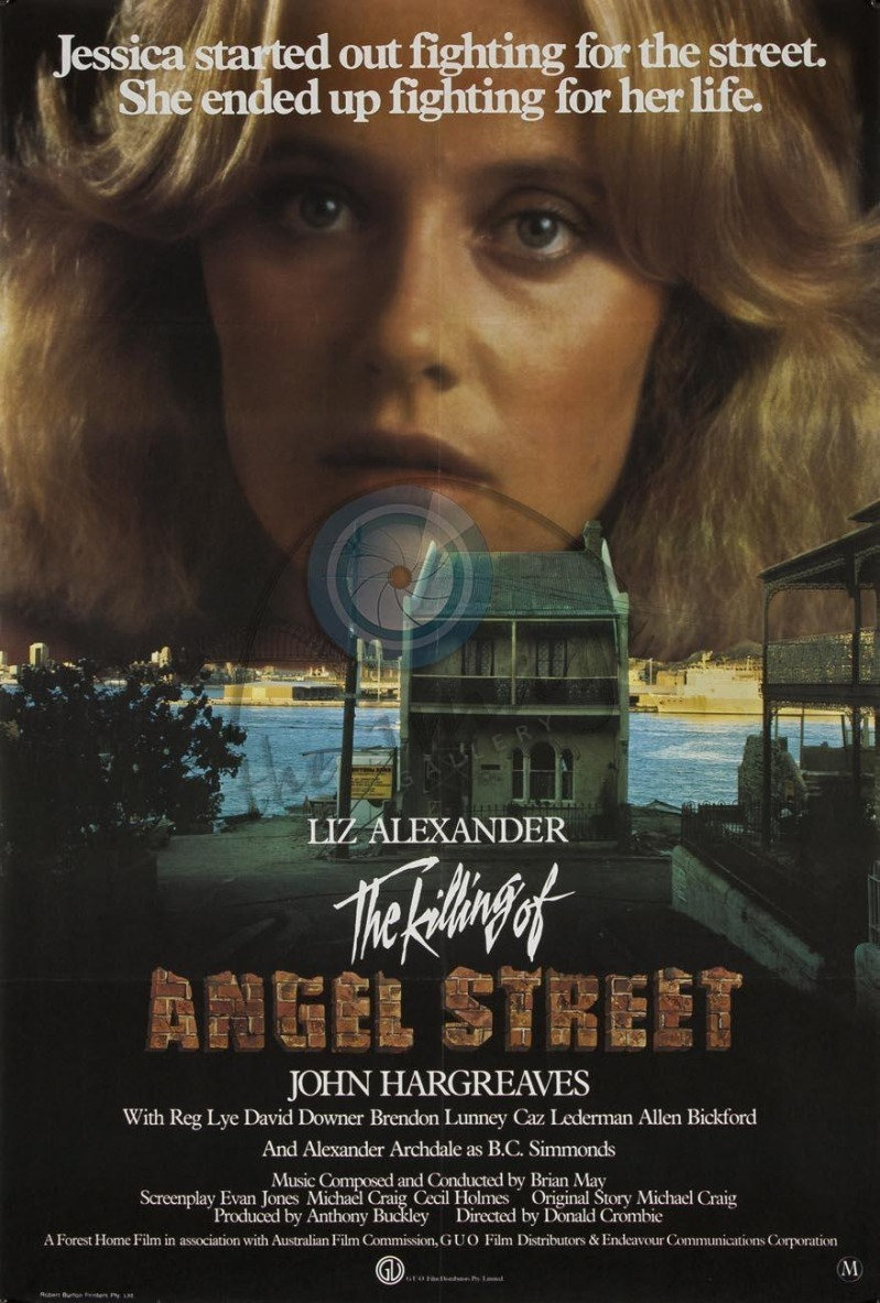 affiche du film The Killing of Angel Street