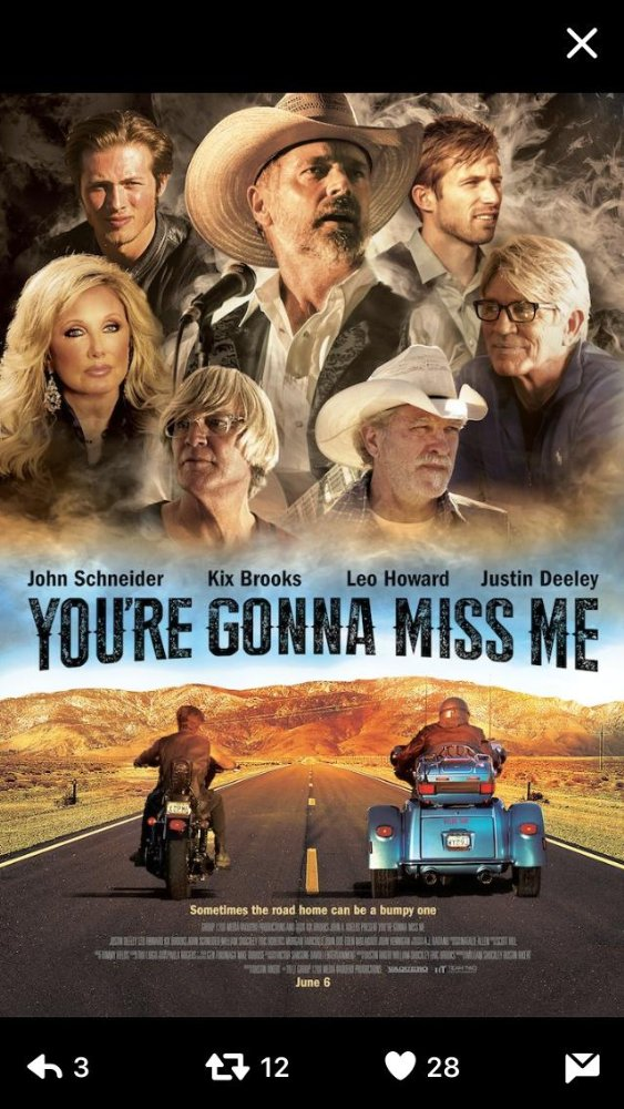 affiche du film You're Gonna Miss Me