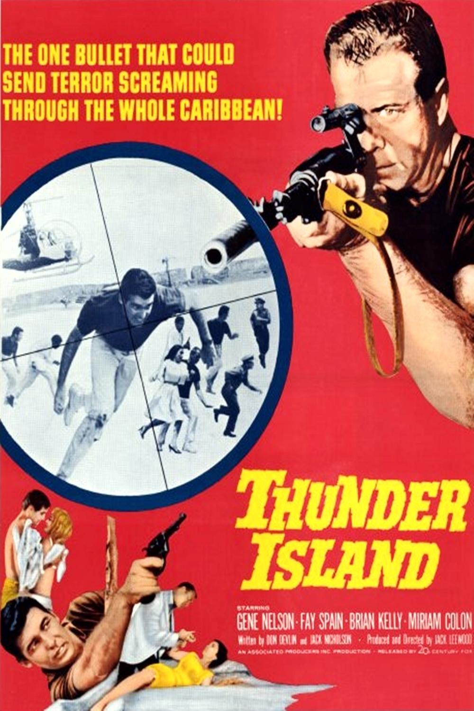 affiche du film Thunder Island