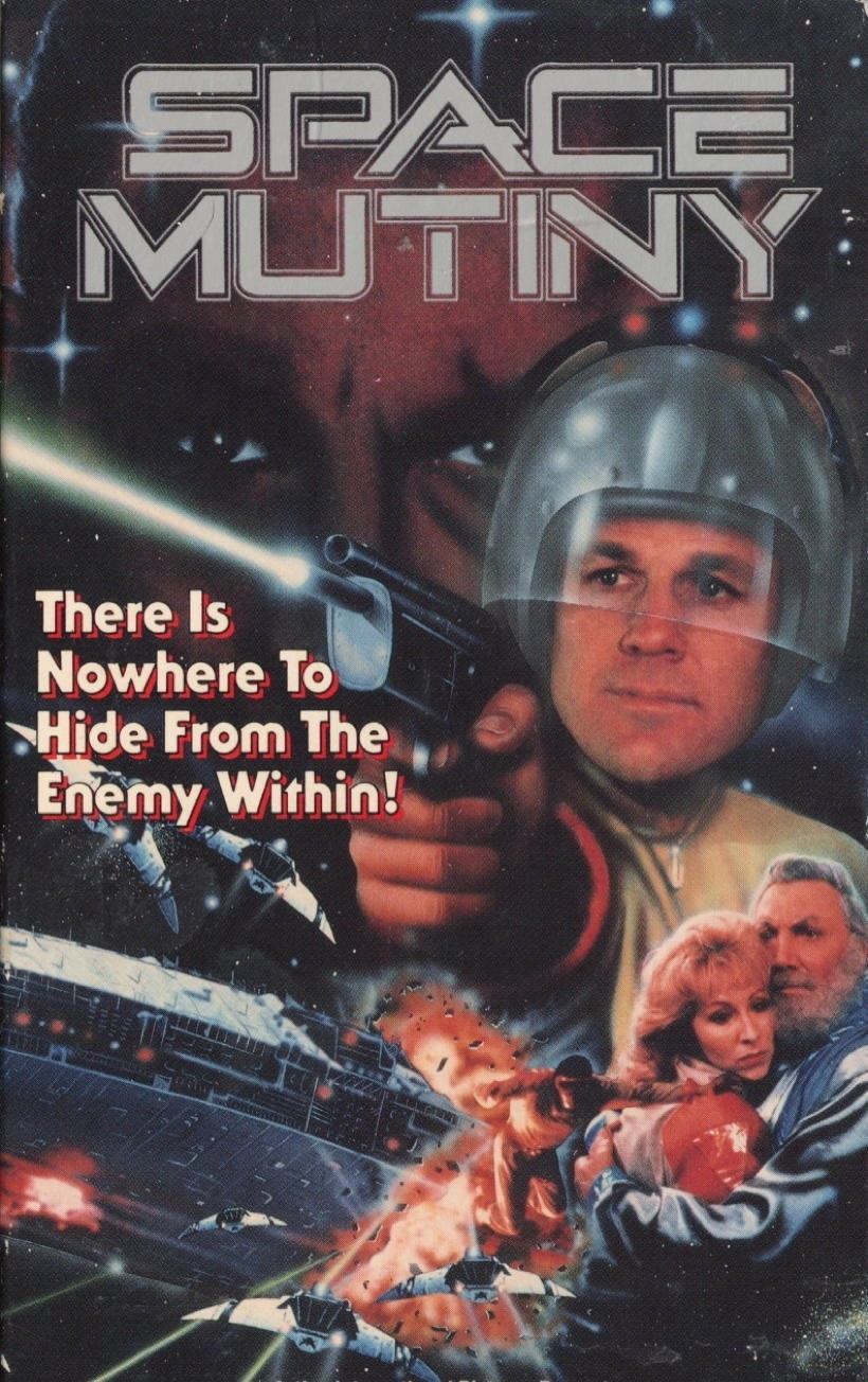 affiche du film Space Mutiny