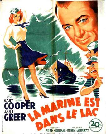 affiche du film La marine est dans le lac