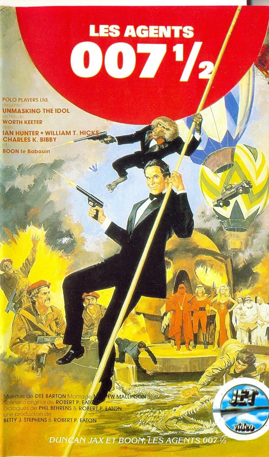 affiche du film Les agents 007 1/2