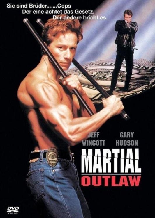 affiche du film Martial Outlaw