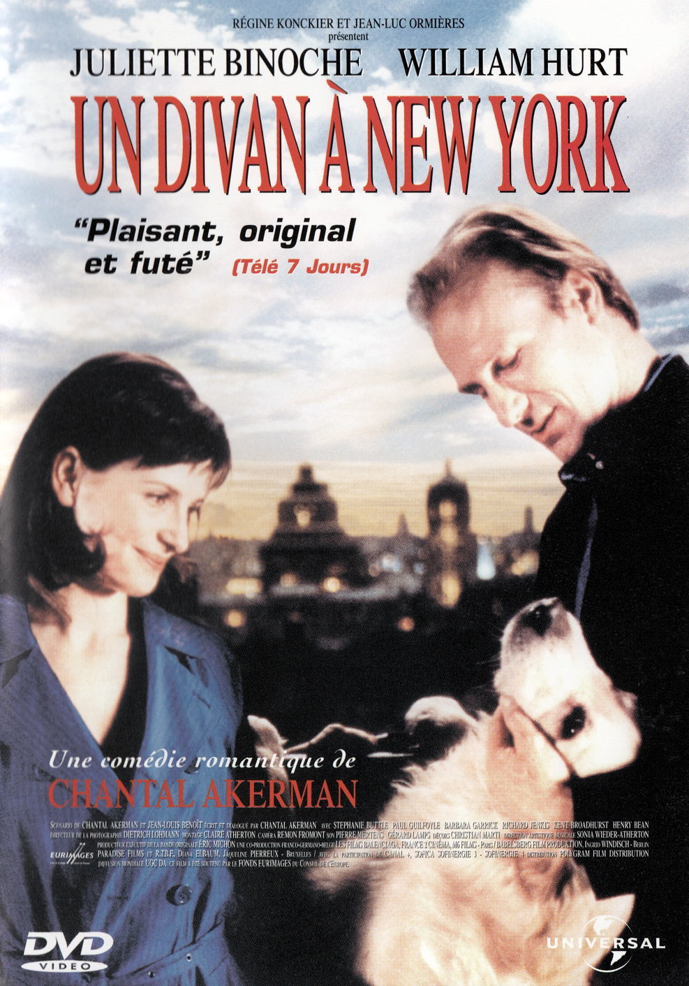 affiche du film Un divan à New York