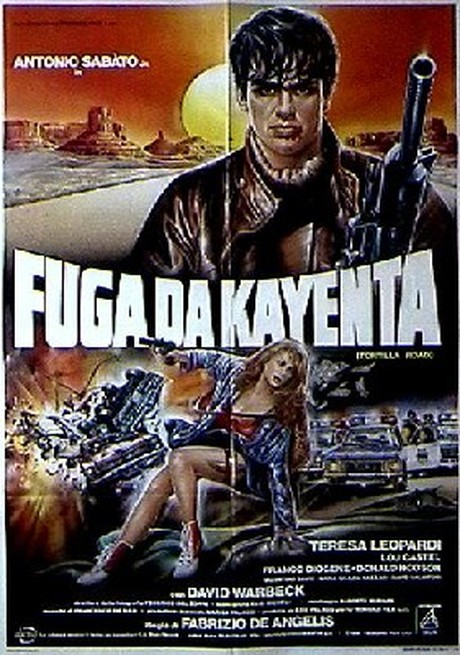 affiche du film Fuga da Kayenta