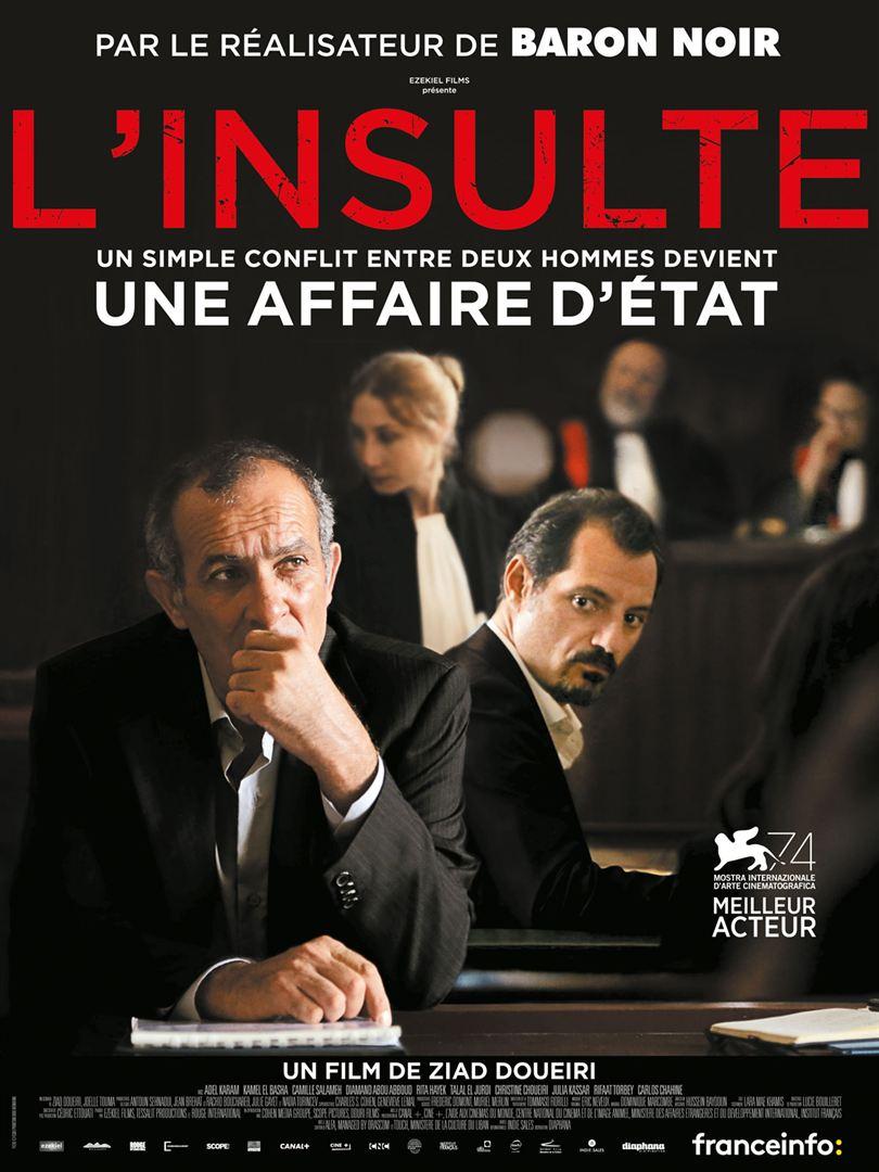 affiche du film L'Insulte