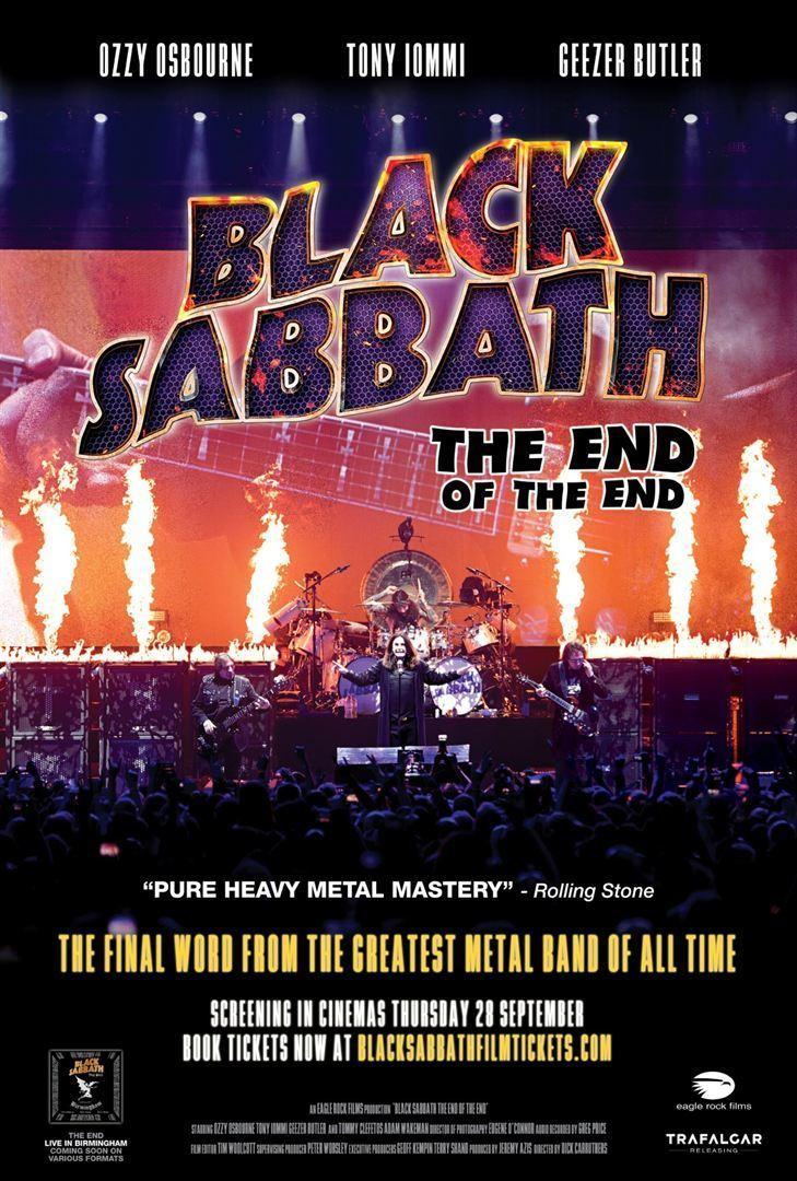 affiche du film Black Sabbath: The End of the End