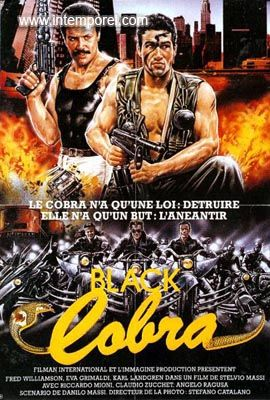 affiche du film Black Cobra