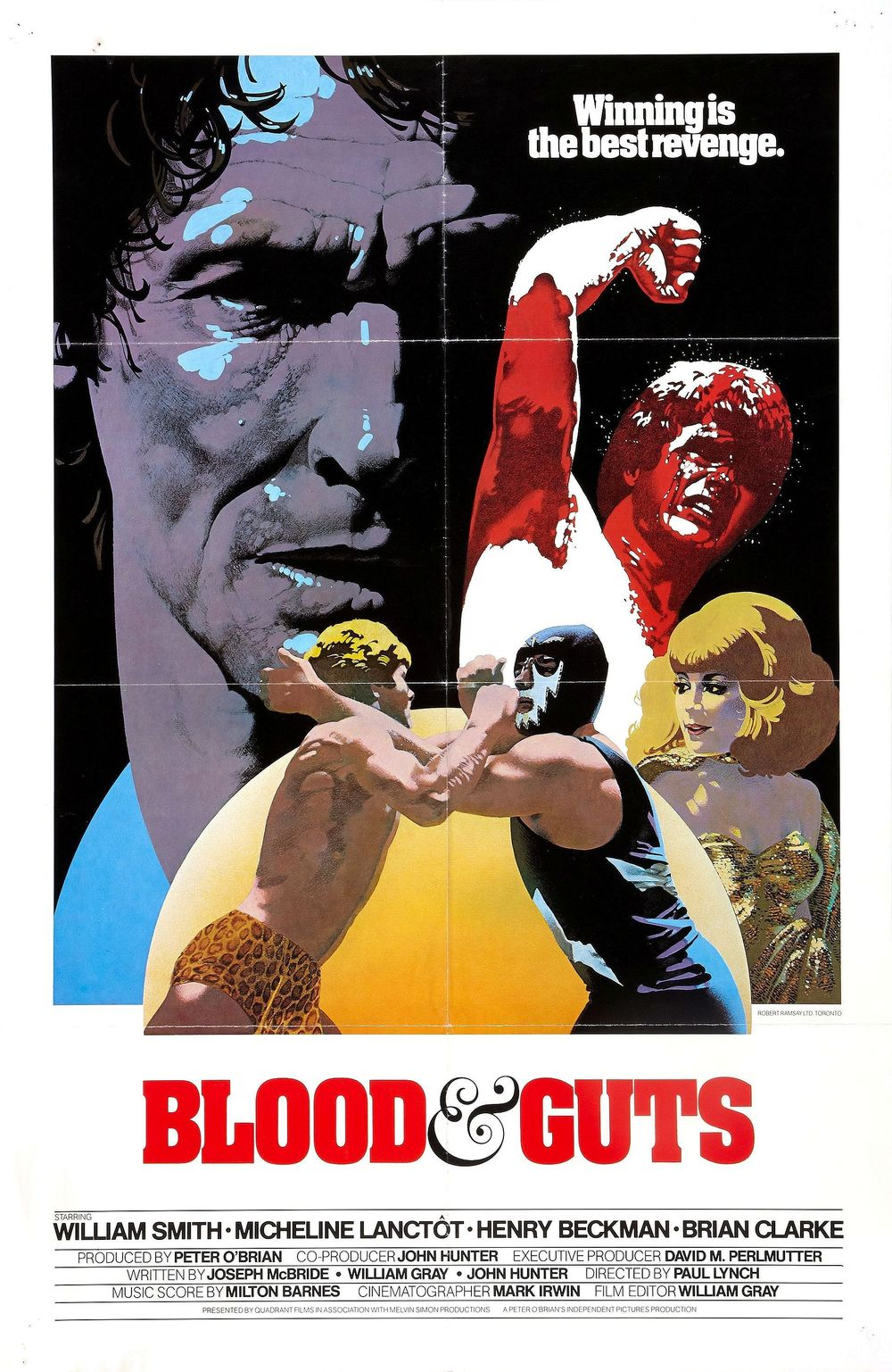affiche du film Blood & Guts