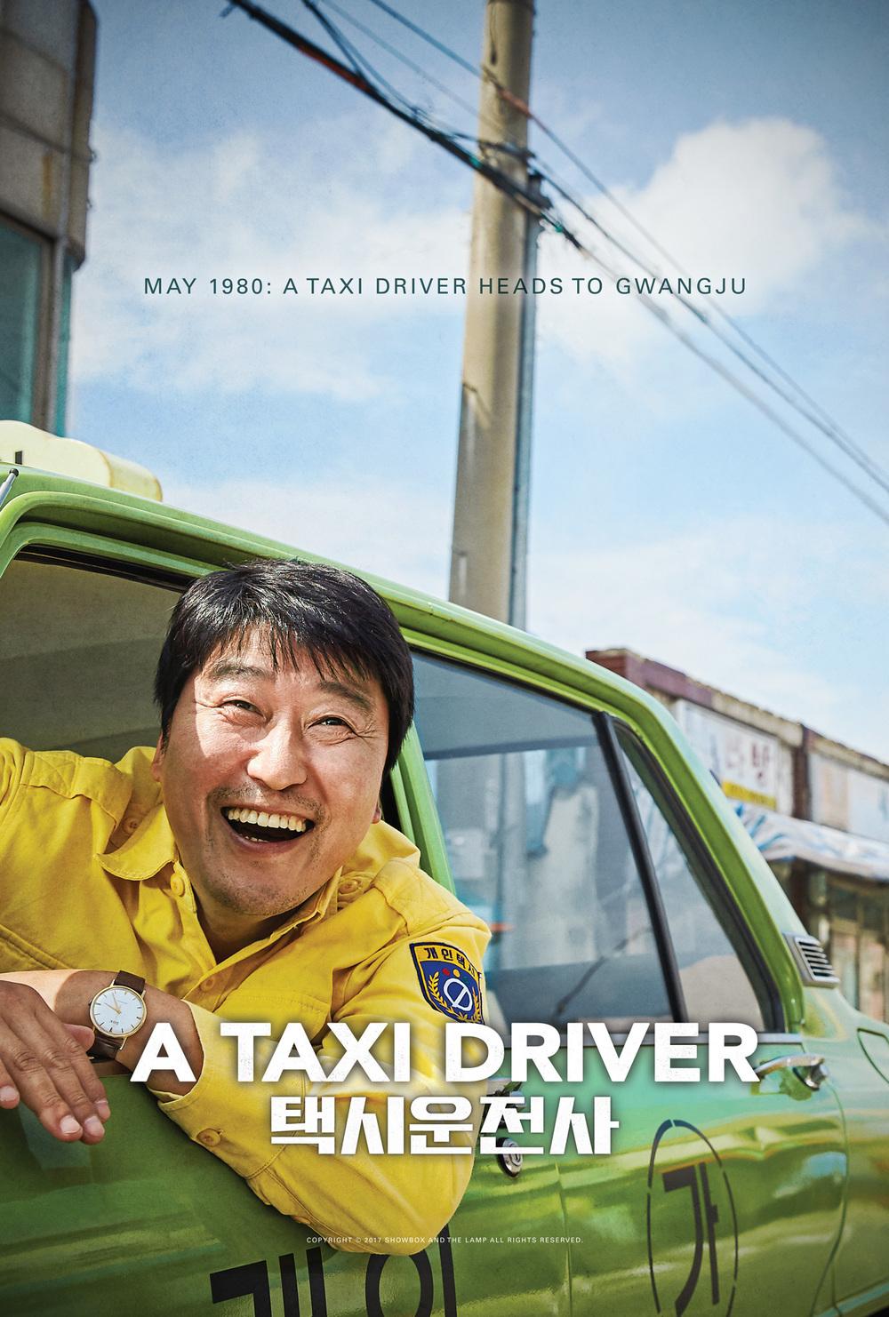 affiche du film A Taxi Driver