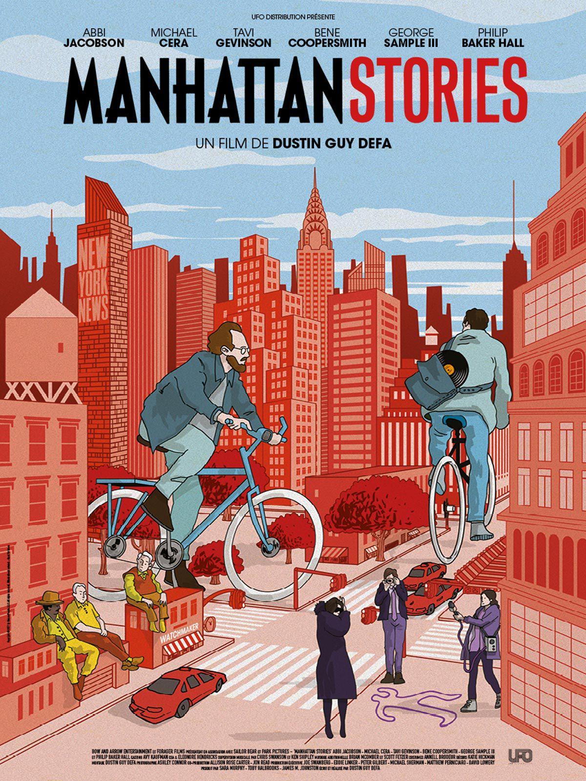 affiche du film Manhattan stories