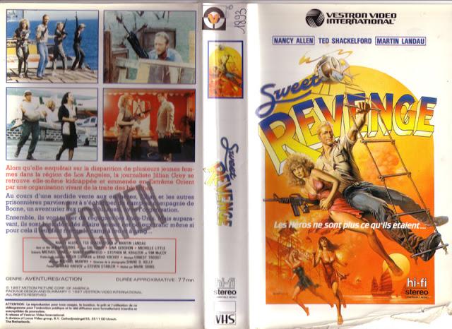 affiche du film Sweet Revenge
