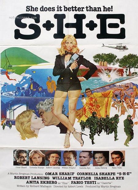 affiche du film Nom de code: S.H.E.