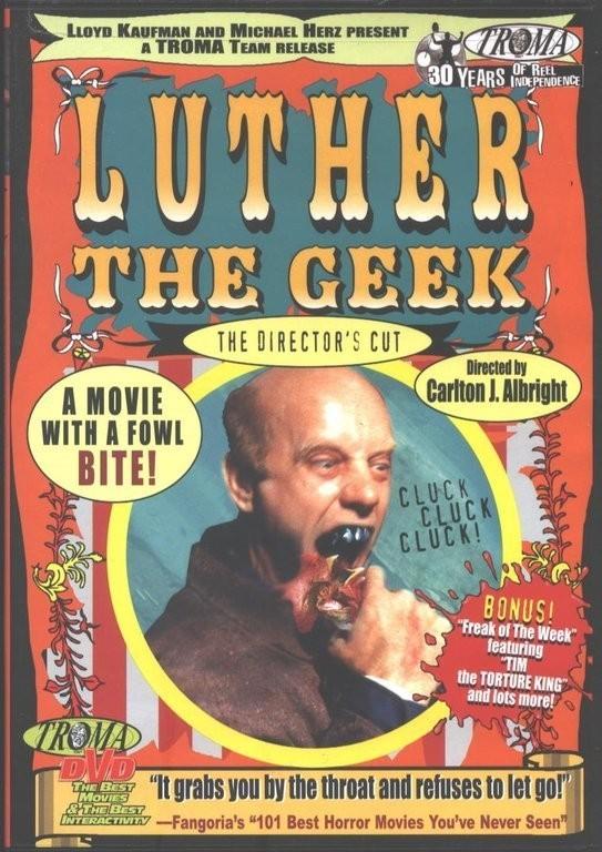 affiche du film Luther the Geek