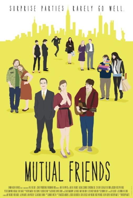 affiche du film Mutual Friends