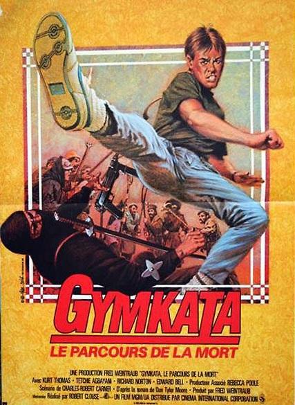 affiche du film Gymkata, Le parcours de la mort