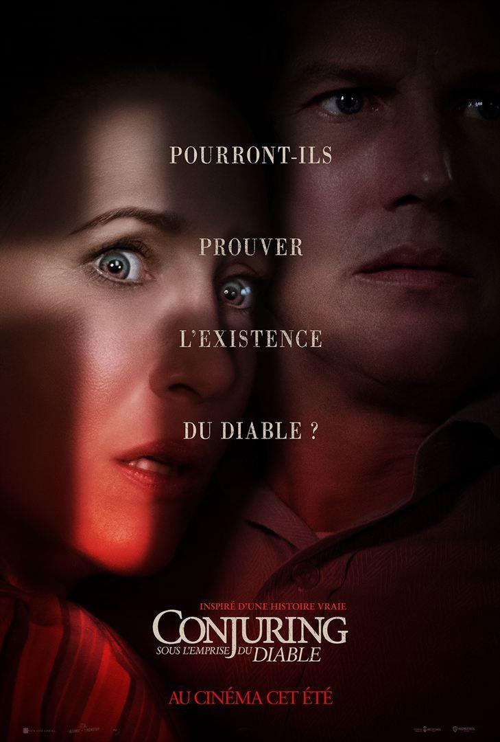 affiche du film Conjuring 3 : Sous l'emprise du Diable