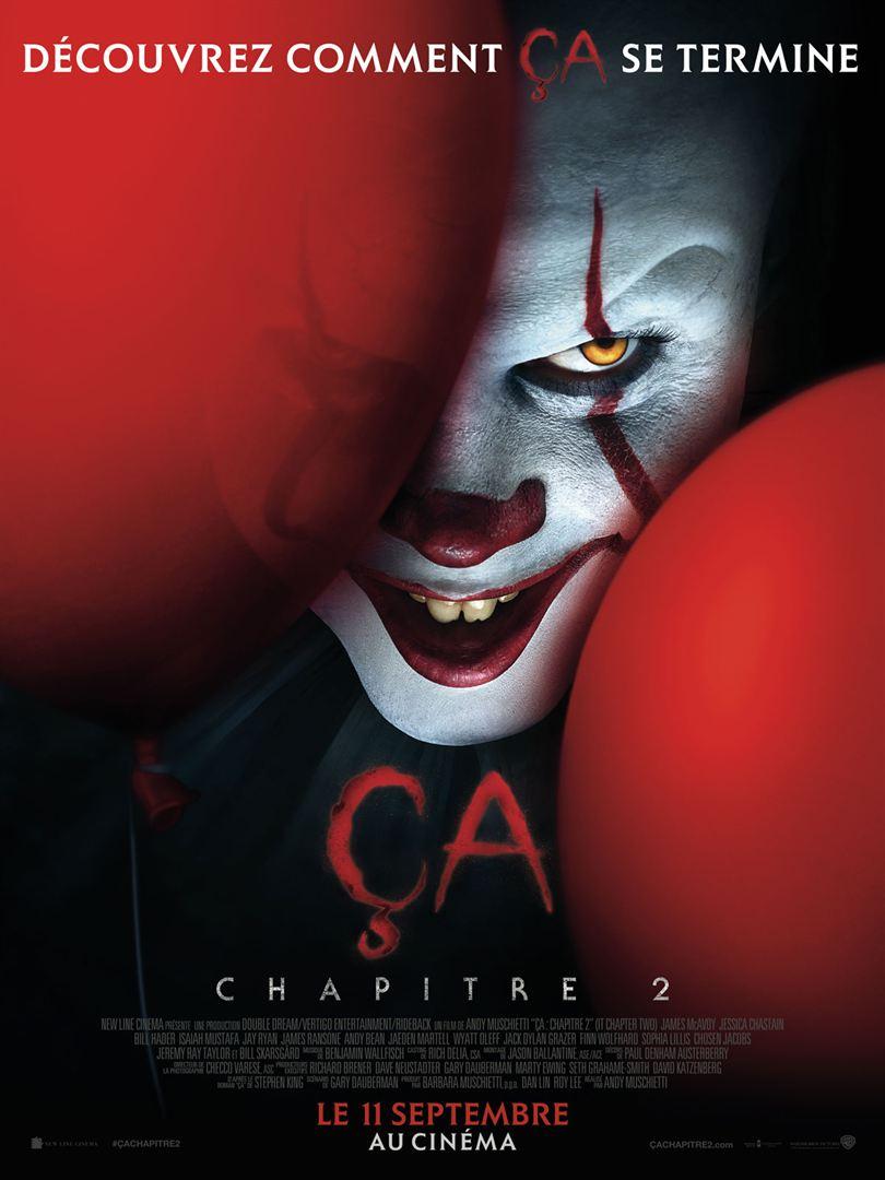 affiche du film Ça, chapitre II