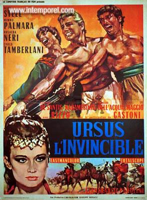 affiche du film Ursus l'invincible