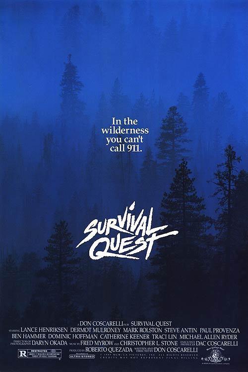 affiche du film Survival Quest
