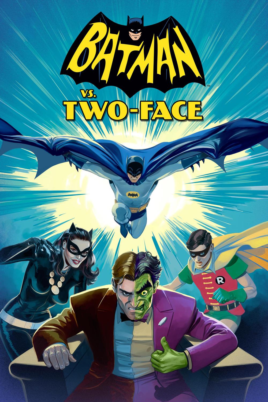 affiche du film Batman contre Double-Face