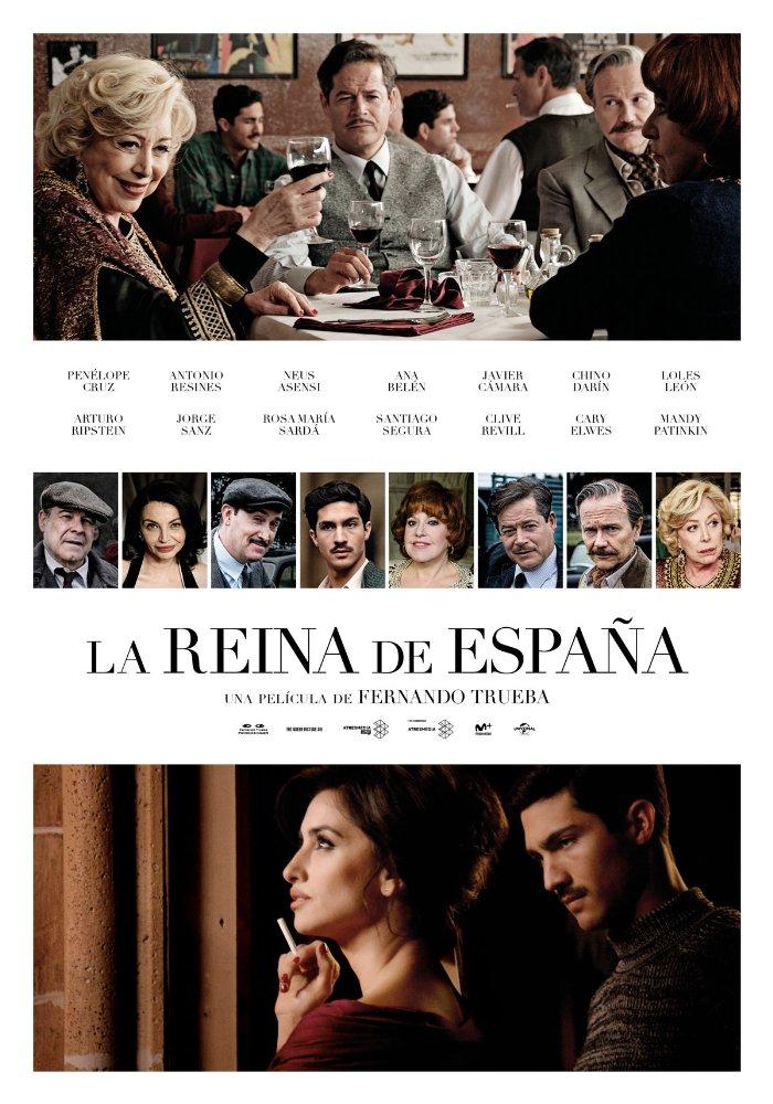 affiche du film La Reina de España