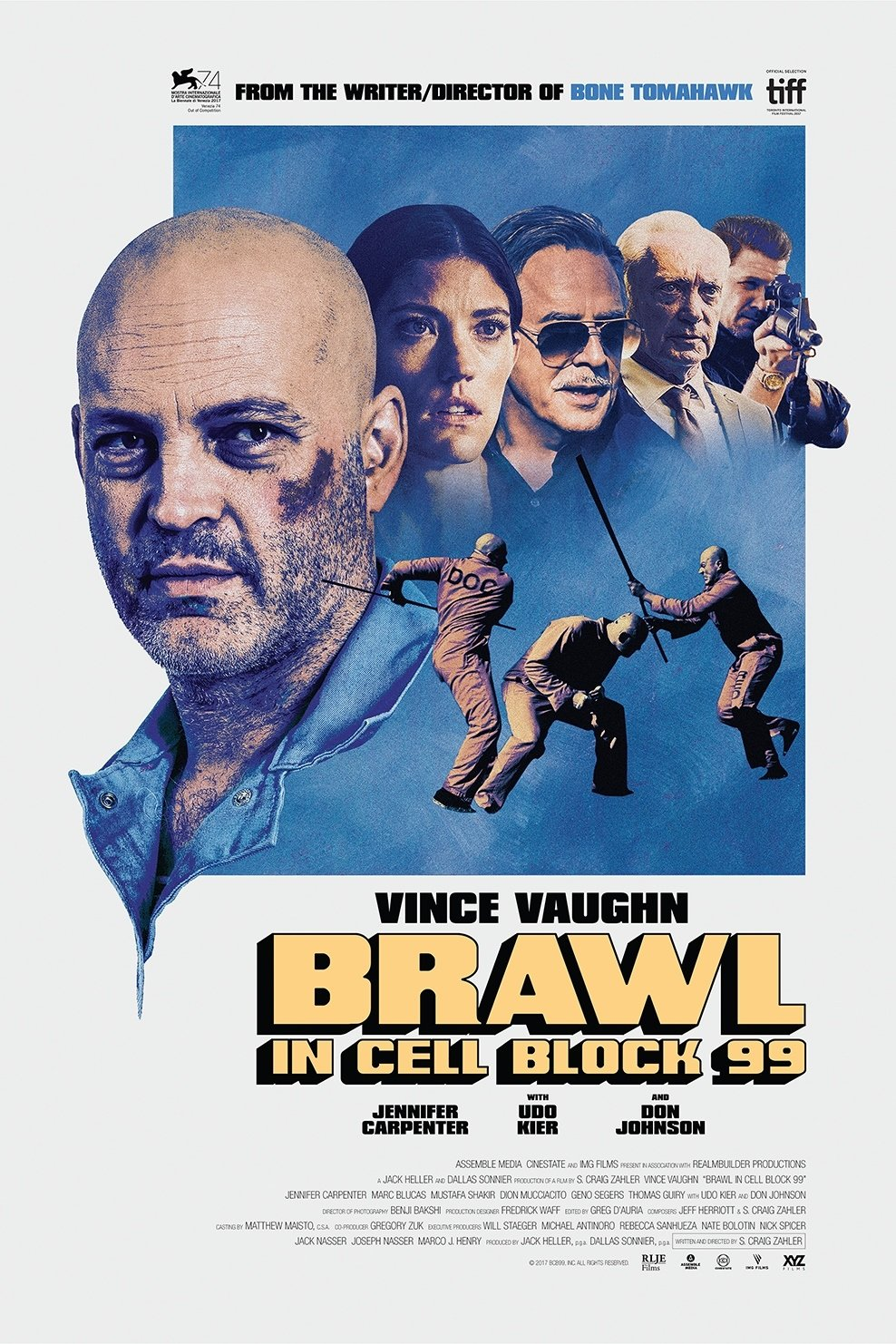 affiche du film Brawl in Cell Block 99