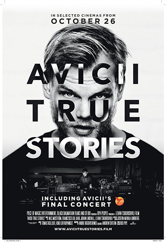 affiche du film Avicii: True Stories