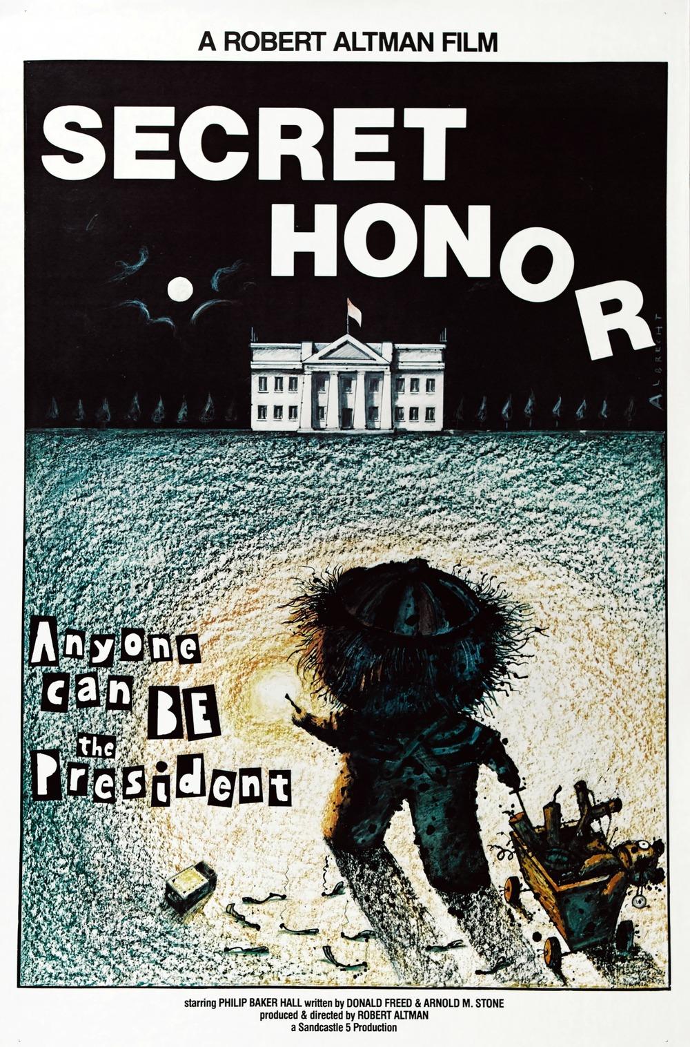 affiche du film Secret Honor