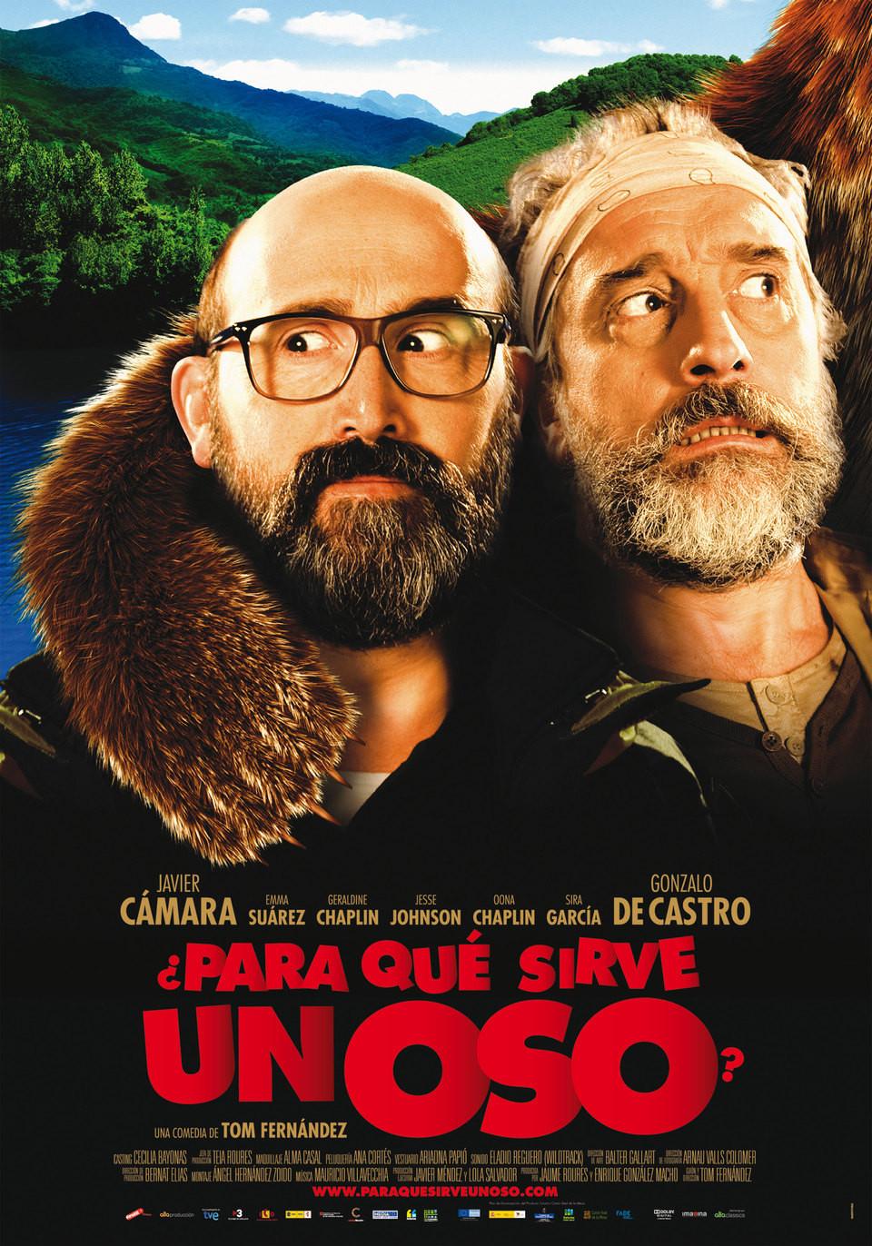affiche du film ¿Para qué sirve un oso?