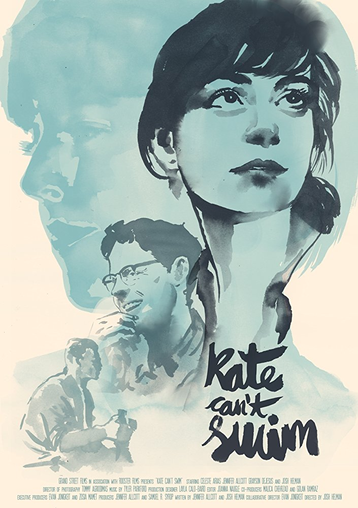 affiche du film Kate Can't Swim