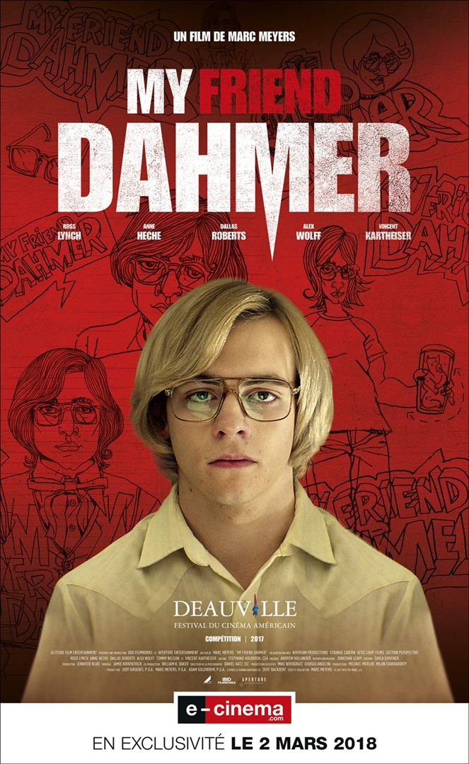 affiche du film My Friend Dahmer