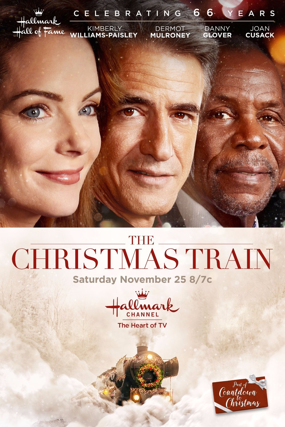 affiche du film Le train de Noël (TV)