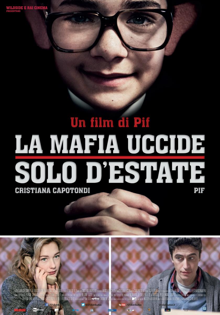 affiche du film La mafia tue seulement l'été