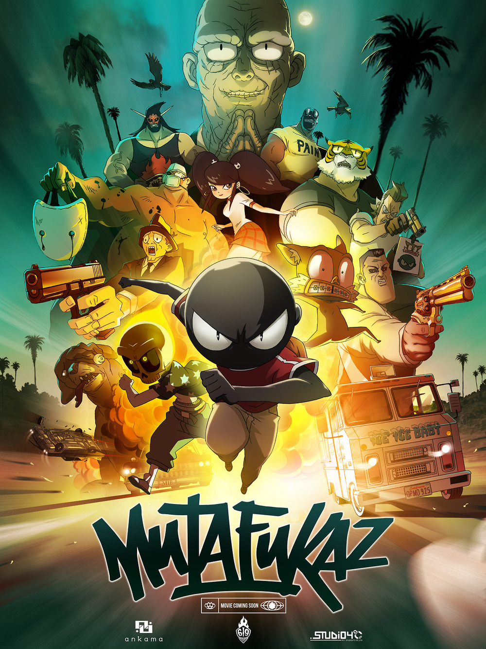 affiche du film Mutafukaz