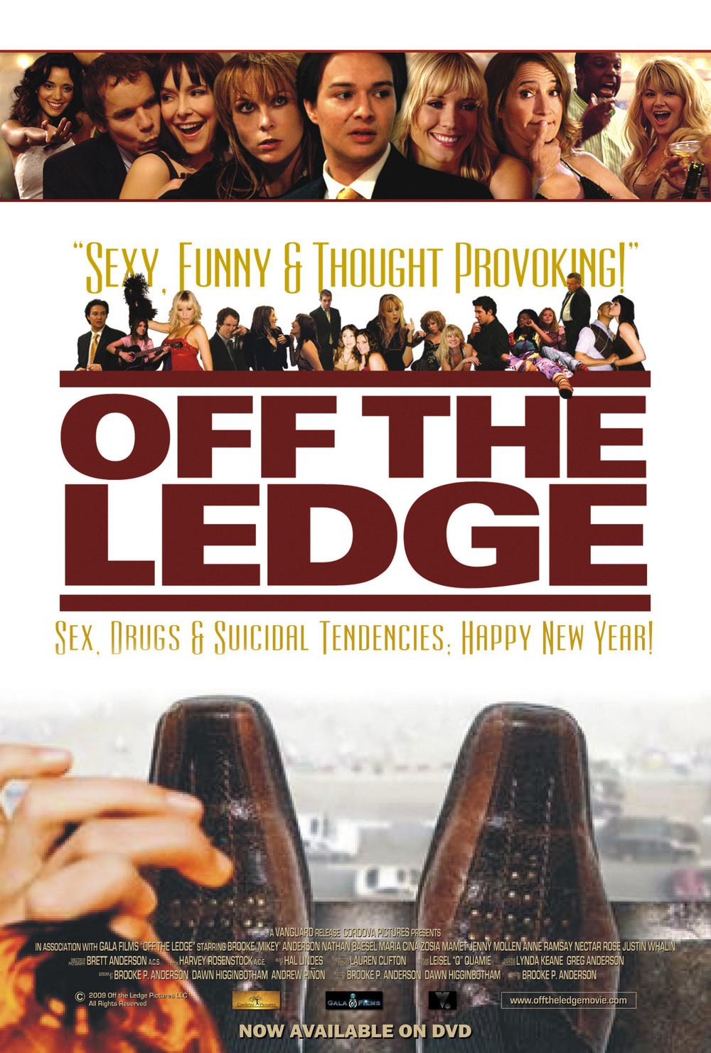 affiche du film Off the Ledge