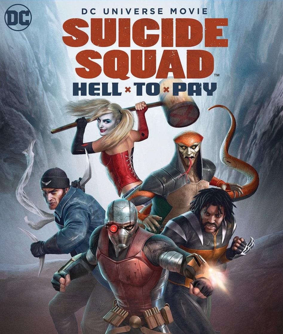 affiche du film Suicide Squad : Le Prix de l'Enfer