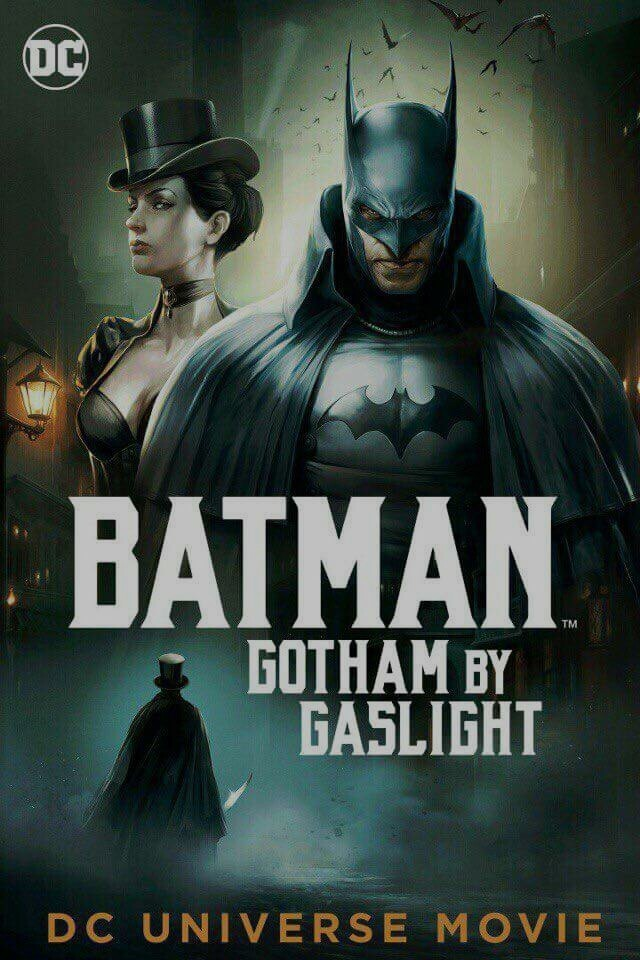 affiche du film Batman: Gotham by Gaslight