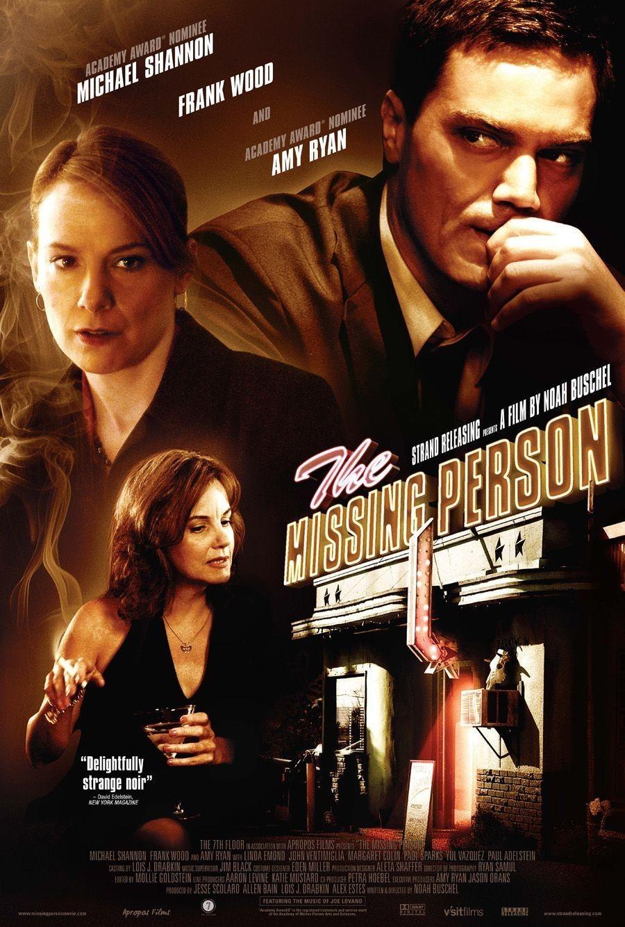 affiche du film The Missing Person